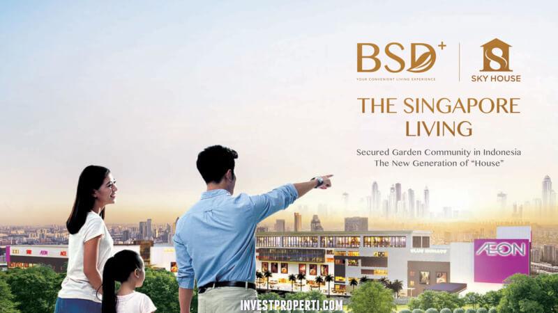 Apartemen BSD+ Sky House