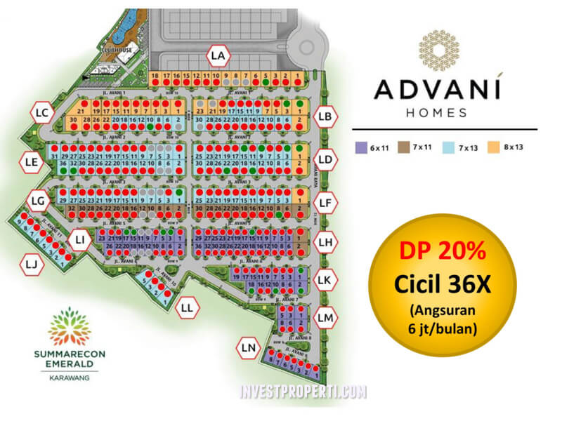 Cluster Advani Summarecon Karawang PROMO