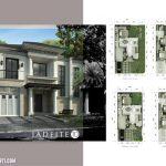 Denah Rumah Jadeite Residence Tipe 10