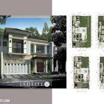 Denah Rumah Jadeite Residence Tipe 12