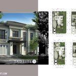 Denah Rumah Jadeite Residence Tipe 9