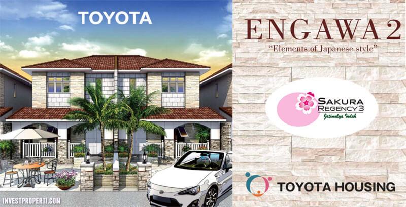Dijual Rumah 2 Lantai Sakura Regency 3 Bekasi By Toyota Housing