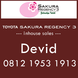 inhouse sales rumah Toyota Housing
