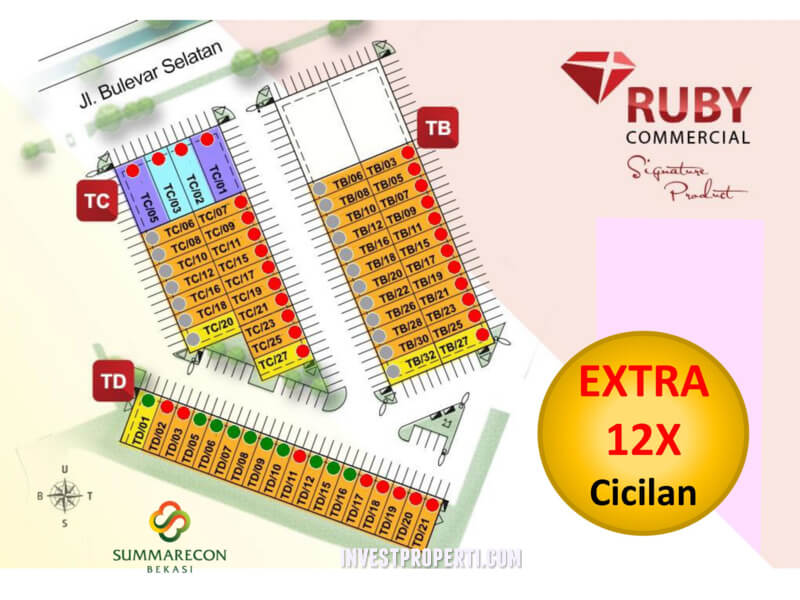 Ruby Commercial Summarecon Bekasi