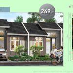 Rumah Cluster Arcadia Tipe 27/60