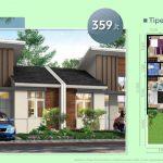 Rumah Cluster Arcadia Tipe 39/72