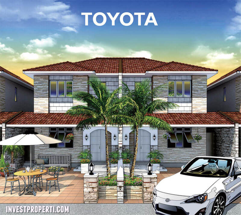Rumah Engawa 3 Toyota Housing
