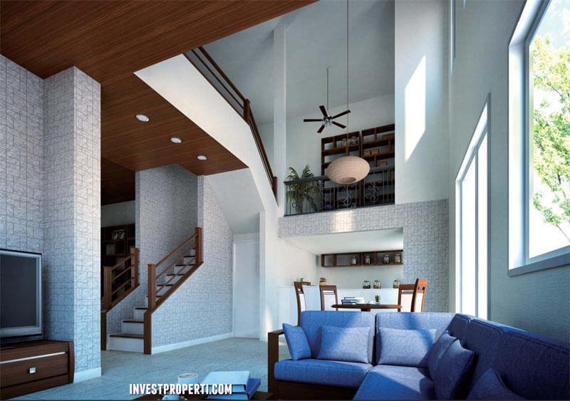 """interior Rumah Sakura Regency 3 TEITAKU """"series two"""""""