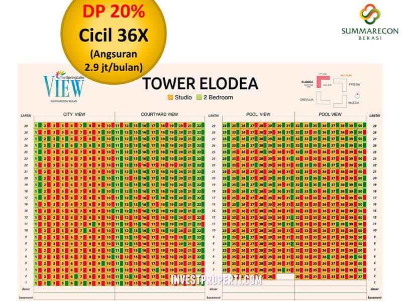 Tower Elodea Apartemen Springlake Bekasi