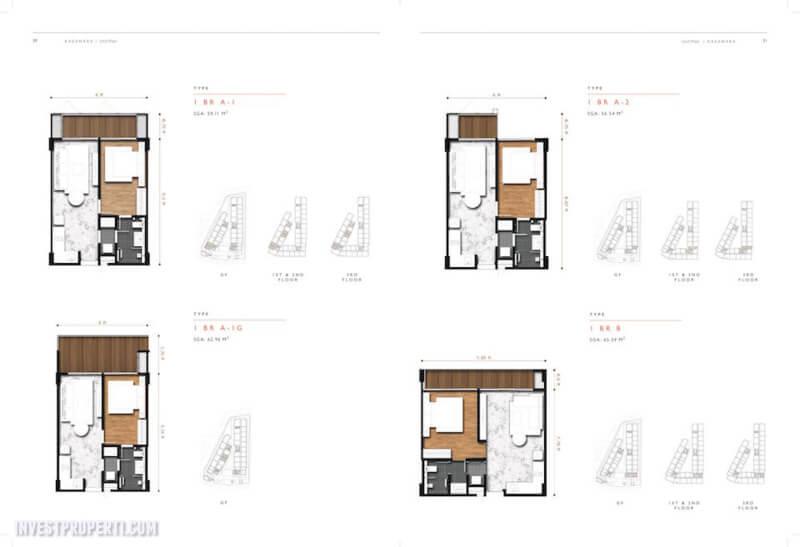 Unit 1 BR Apartemen Kasamara