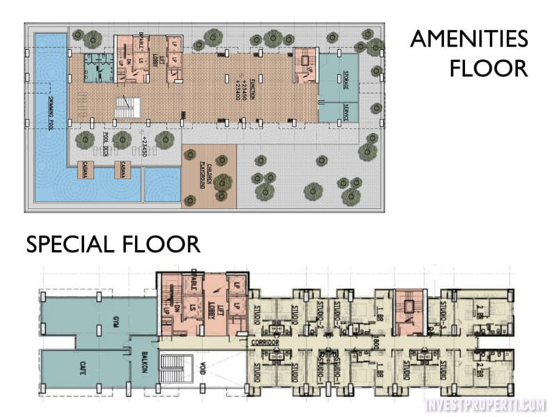 Amenities Floor Plan