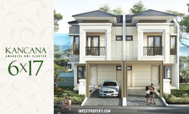 Rumah Cluster Amagriya Dwi Podomoro Park Bandung - Tipe Kancana
