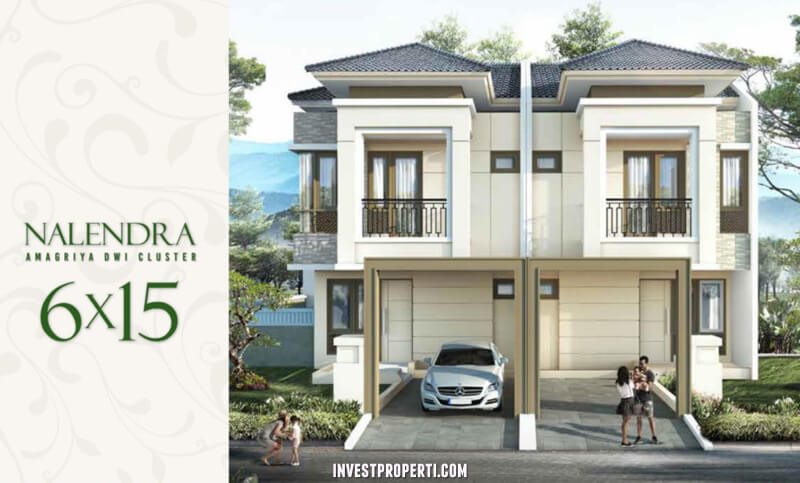 Rumah Cluster Amagriya Dwi Podomoro Park Bandung - Tipe Nalendra
