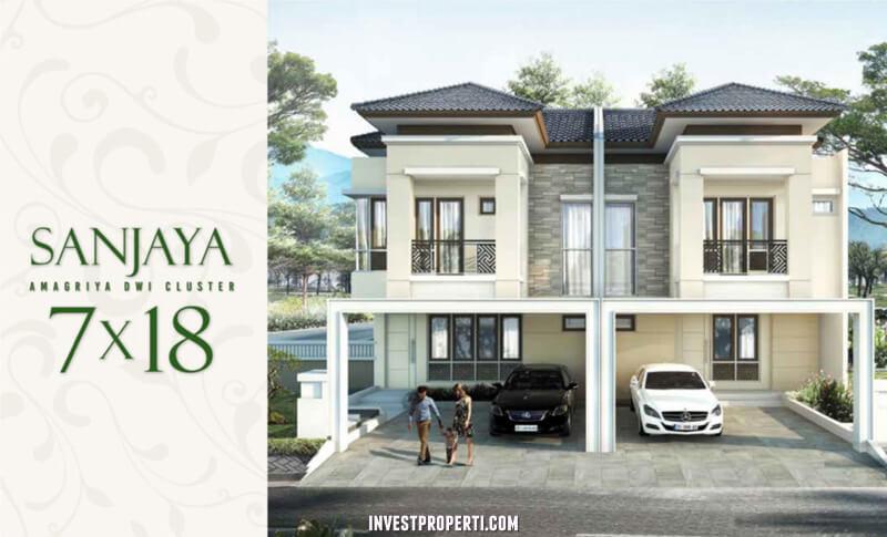 Rumah Cluster Amagriya Dwi Podomoro Park Bandung - Tipe Sanjaya