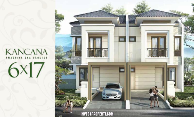 Rumah Cluster Amagriya Eka Podomoro Park Bandung - Tipe Kancana