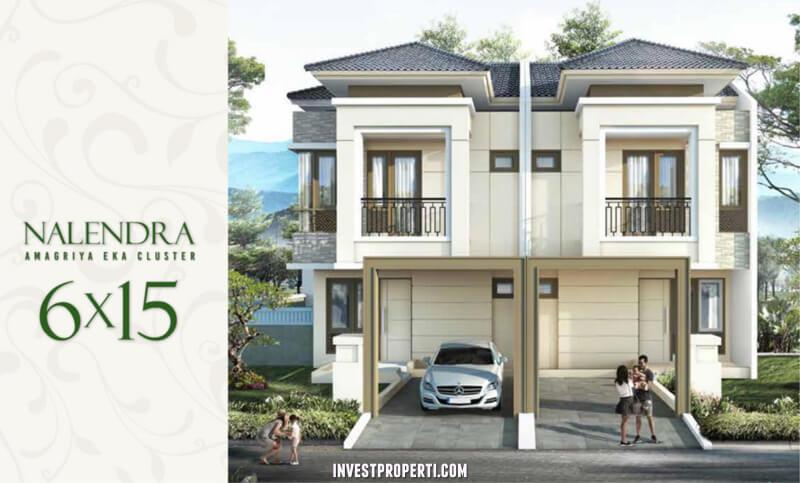 Rumah Cluster Amagriya Eka Podomoro Park Bandung - Tipe Nalendra