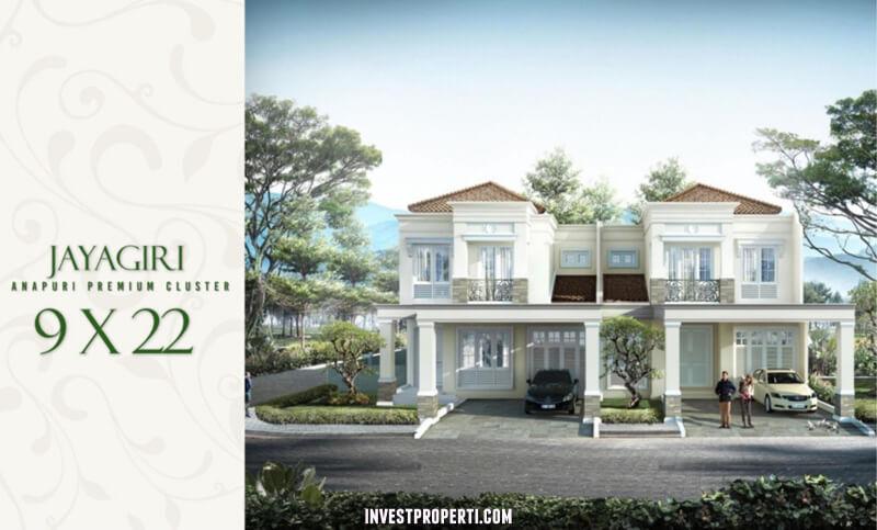 Rumah Cluster Anapuri Podomoro Park Bandung - Tipe Jayagiri