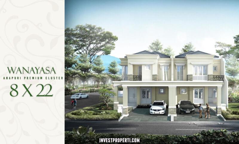 Rumah Cluster Anapuri Podomoro Park Bandung - Tipe Wanayasa