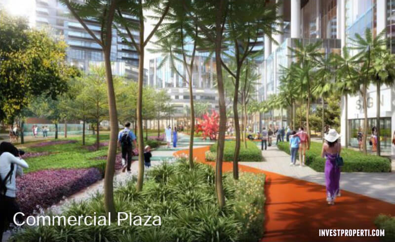 Commercial Plaza One Parc Puri