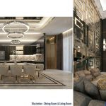 Design Interior Rumah The Zora BSD - Dining Room