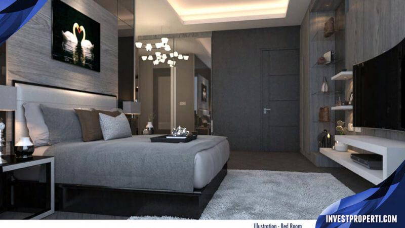 Design Interior Rumah The Zora BSD - Master Room