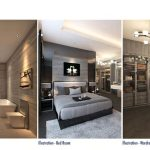Design Interior Rumah The Zora BSD - Master Room