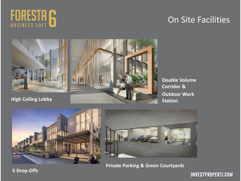 Foresta Business Loft 6 Facilities