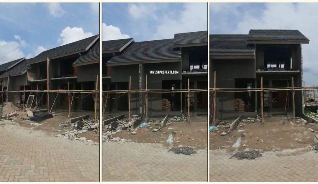 Progress Rumah Aryana Karawaci