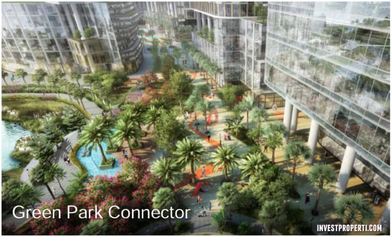 Green Park Connector One Parc Puri