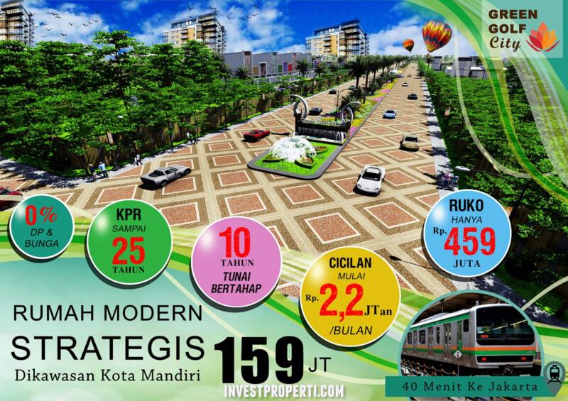 Perumahan Green Golf City Tangerang