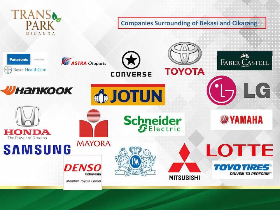 Perusahaan Besar di Bekasi