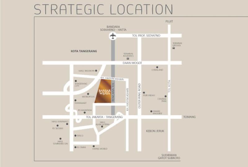 Peta Lokasi Banjar Wijaya