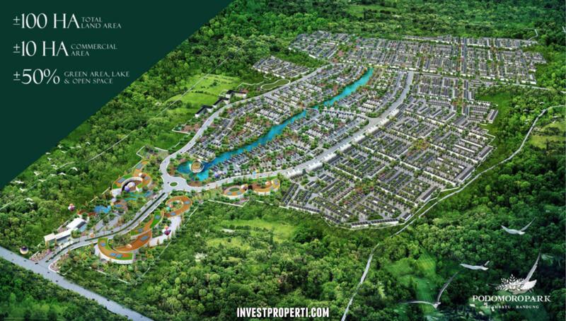 Podomoro Park Batu Bandung Master Plan