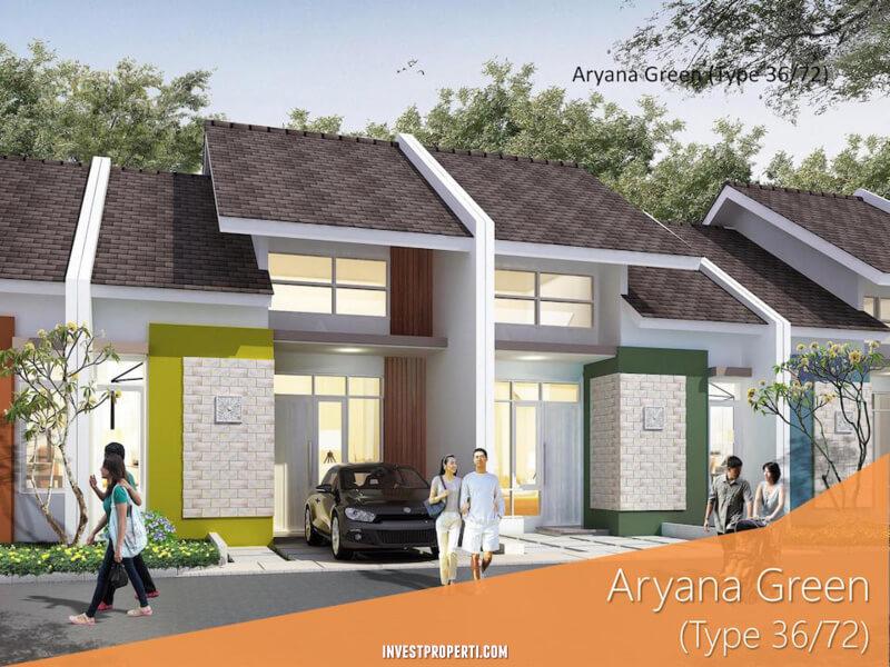 Rumah Aryana Green - Aryana Karawaci