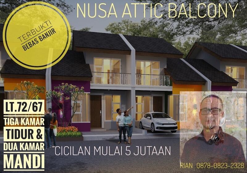 Nusa Attic Balcony