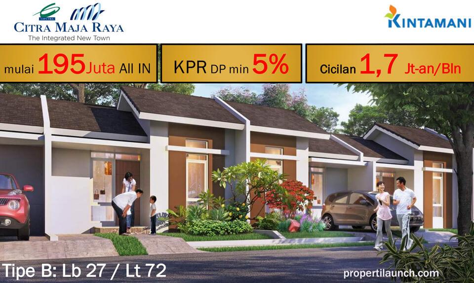 Rumah Kintamani Citra Maja Raya - Tipe B
