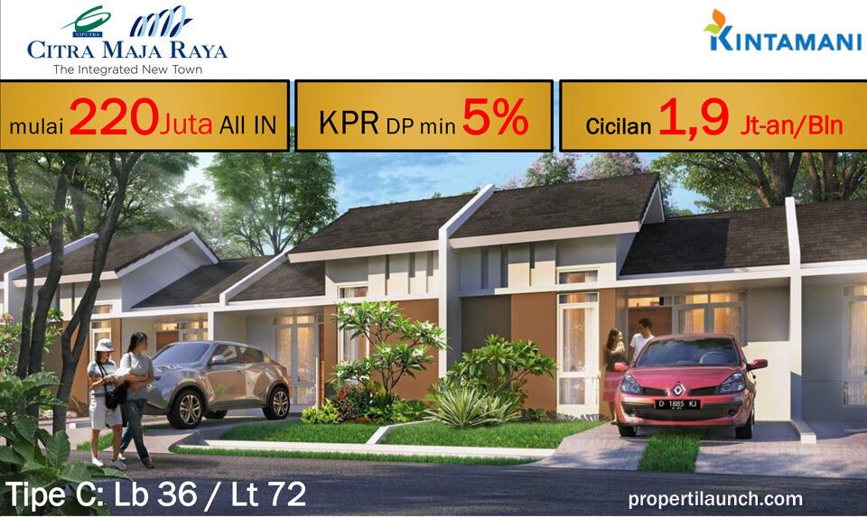 Rumah Kintamani Citra Maja Raya - Tipe C