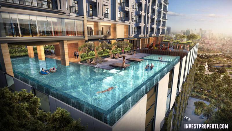 Pool @ Solterra Place Apartment Jakarta