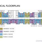 Floor Plan Apartemen Solterra Place