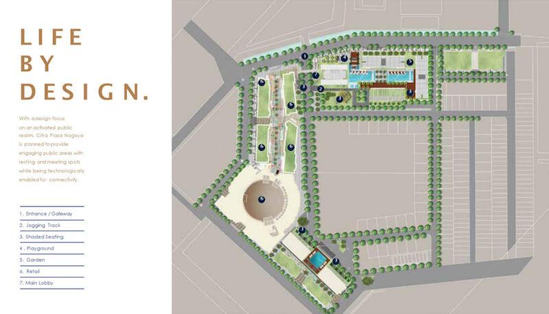 Master Plan Citra Plaza Nagoya