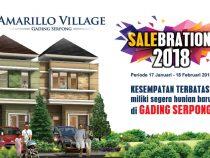 Promo 2018 Beli Rumah Cluster Amarillo Gading Serpong