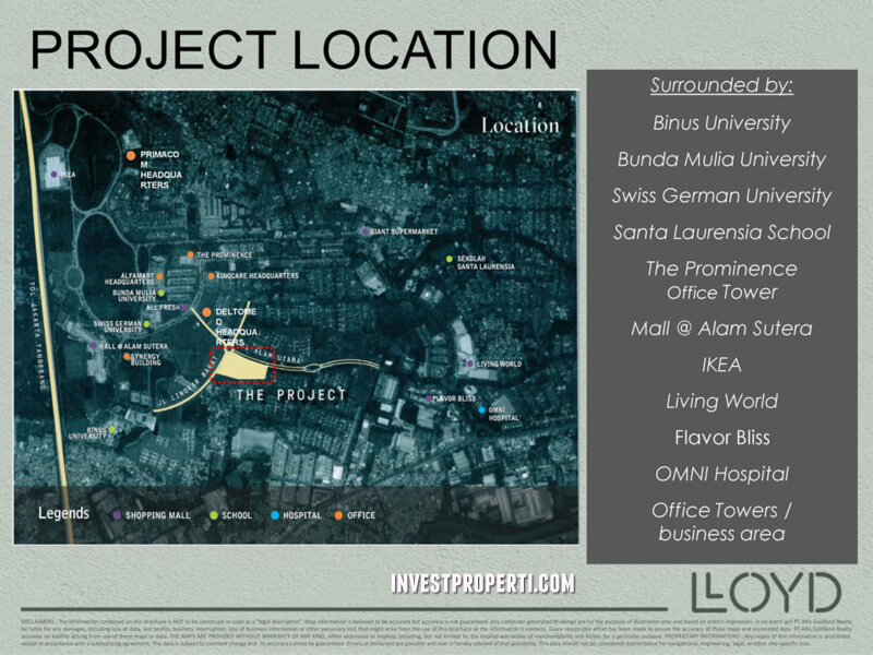 lloyd project location