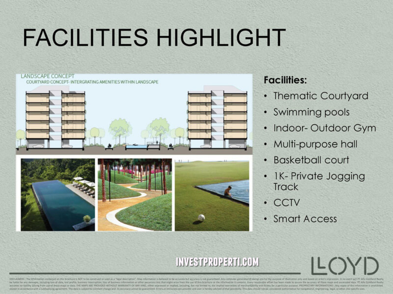 lloyd alam sutera facilities