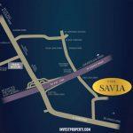 Peta Lokasi Rumah Savia BSD