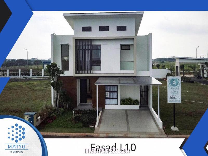 Rumah Cluster Shinano Tipe L10