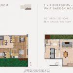 Tipe 3+1 Bedroom