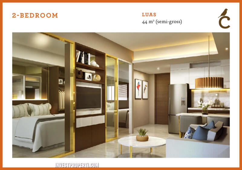 2 BR Type Canary Serpong