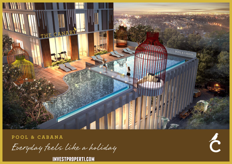 Canary Serpong Apartment Pool