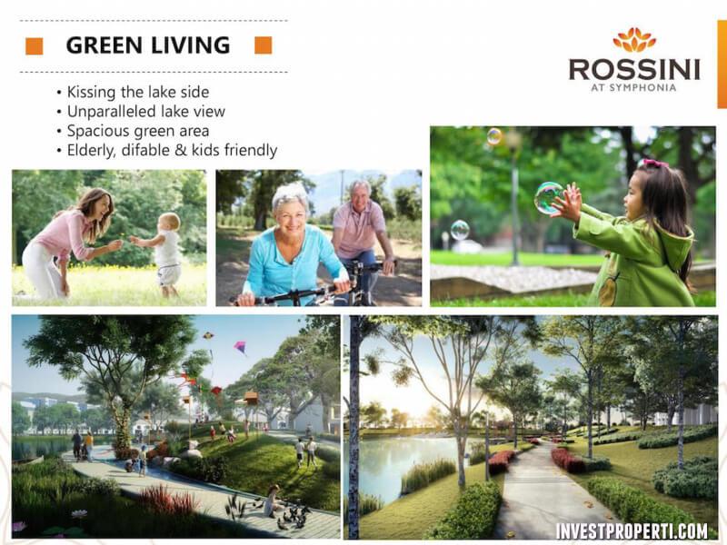 green living cluster rossini