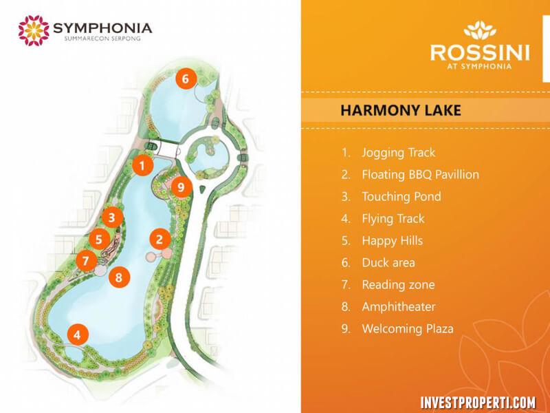 lake symphonia summarecon serpong